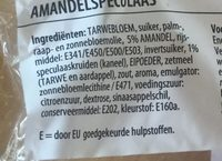 Amandelspeculaasbrokken - Ingrediënten