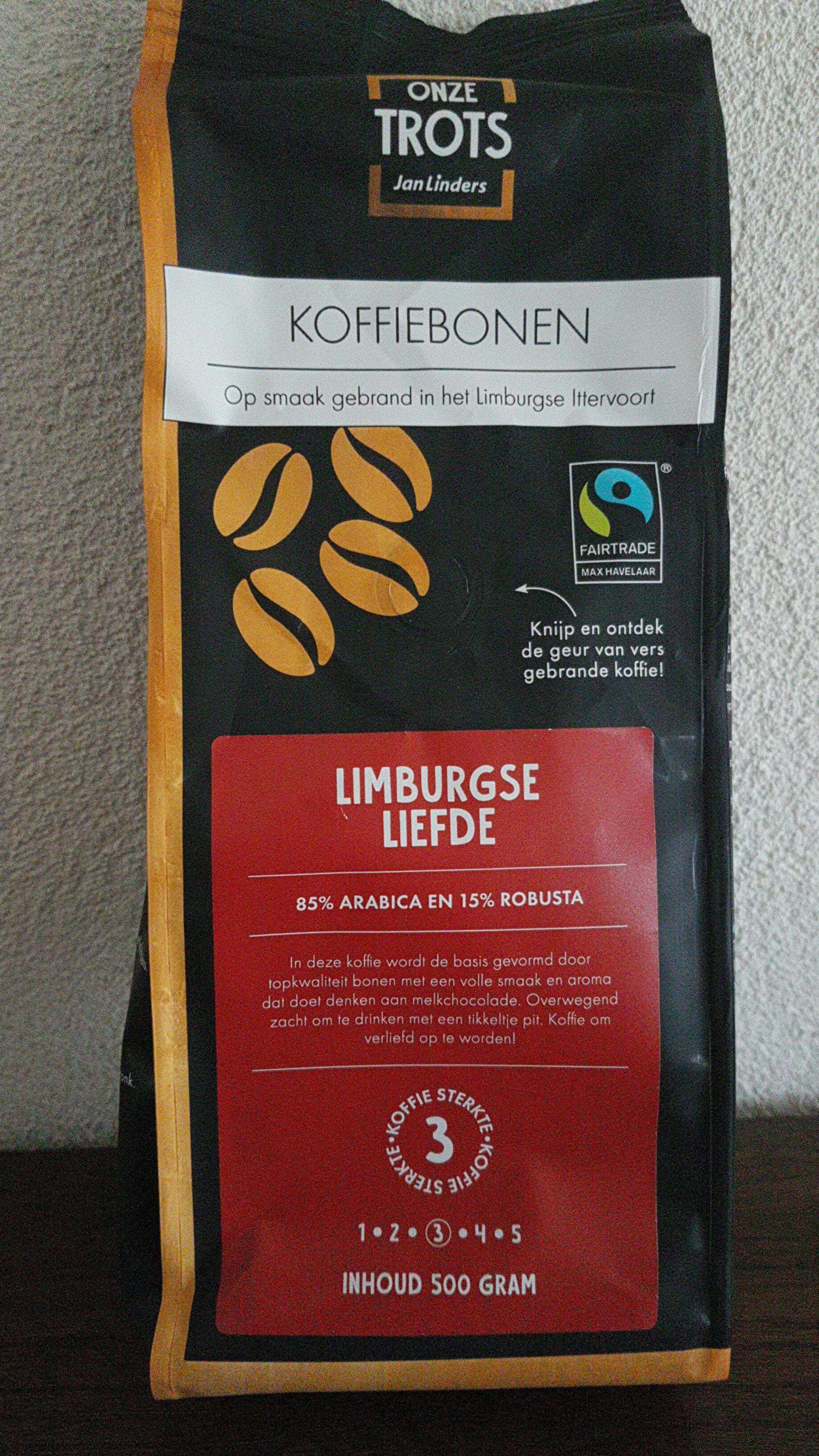 Koffiebonen Limburgse Liefde - Product