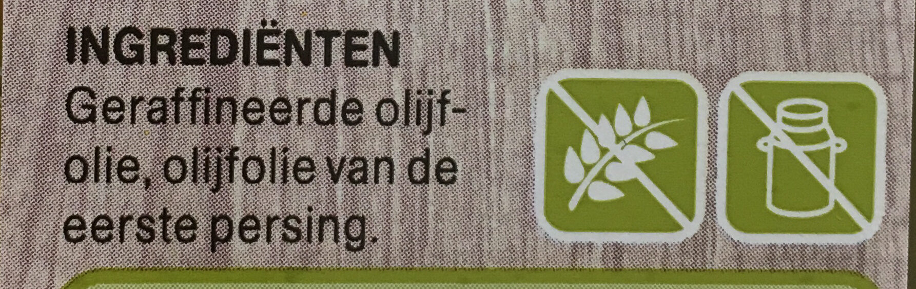 Traditionele Olijfolie - Ingredients