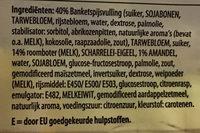 Gevulde koeken - Ingrédients - nl