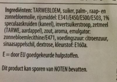 Speculaasbrokken - Ingrediënten - nl