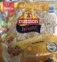 Mission Wraps Epeautre et Avoine - Product - fr