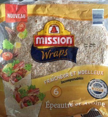 Mission Wraps Epeautre et Avoine - Product