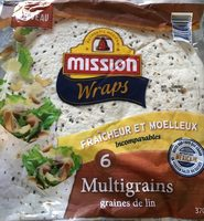 6 wraps multigrains - Product