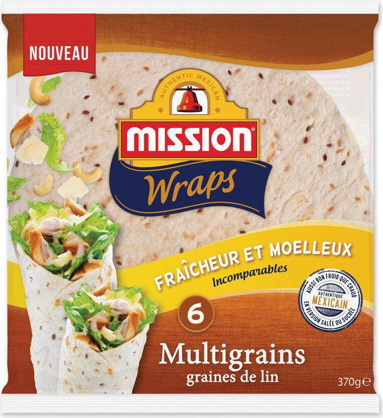 Wraps Multigrains - Product - fr