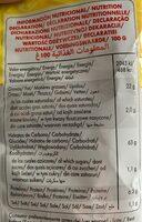 Tortilla chips bio - Wartości odżywcze - en