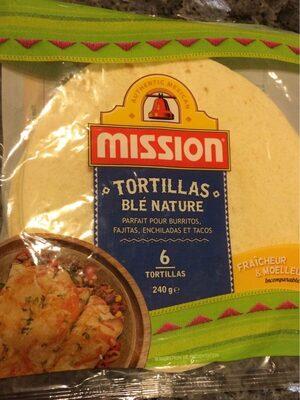 Tortillas blé - Produit