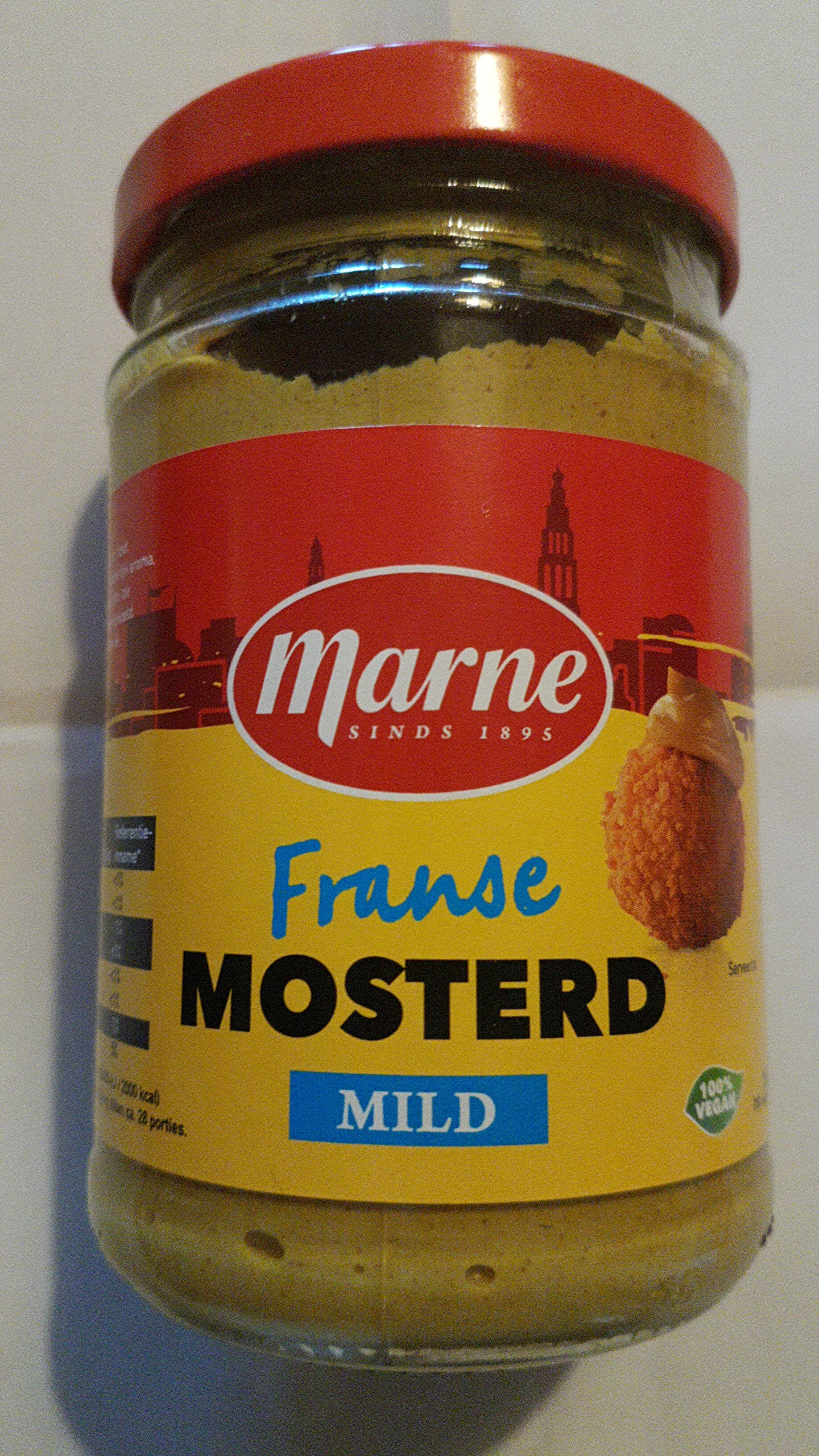 Franse Mosterd Mild - Product - nl