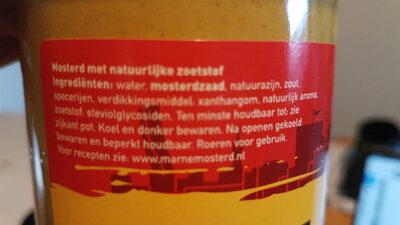Franse Mosterd Mild - Ingrediënten - nl