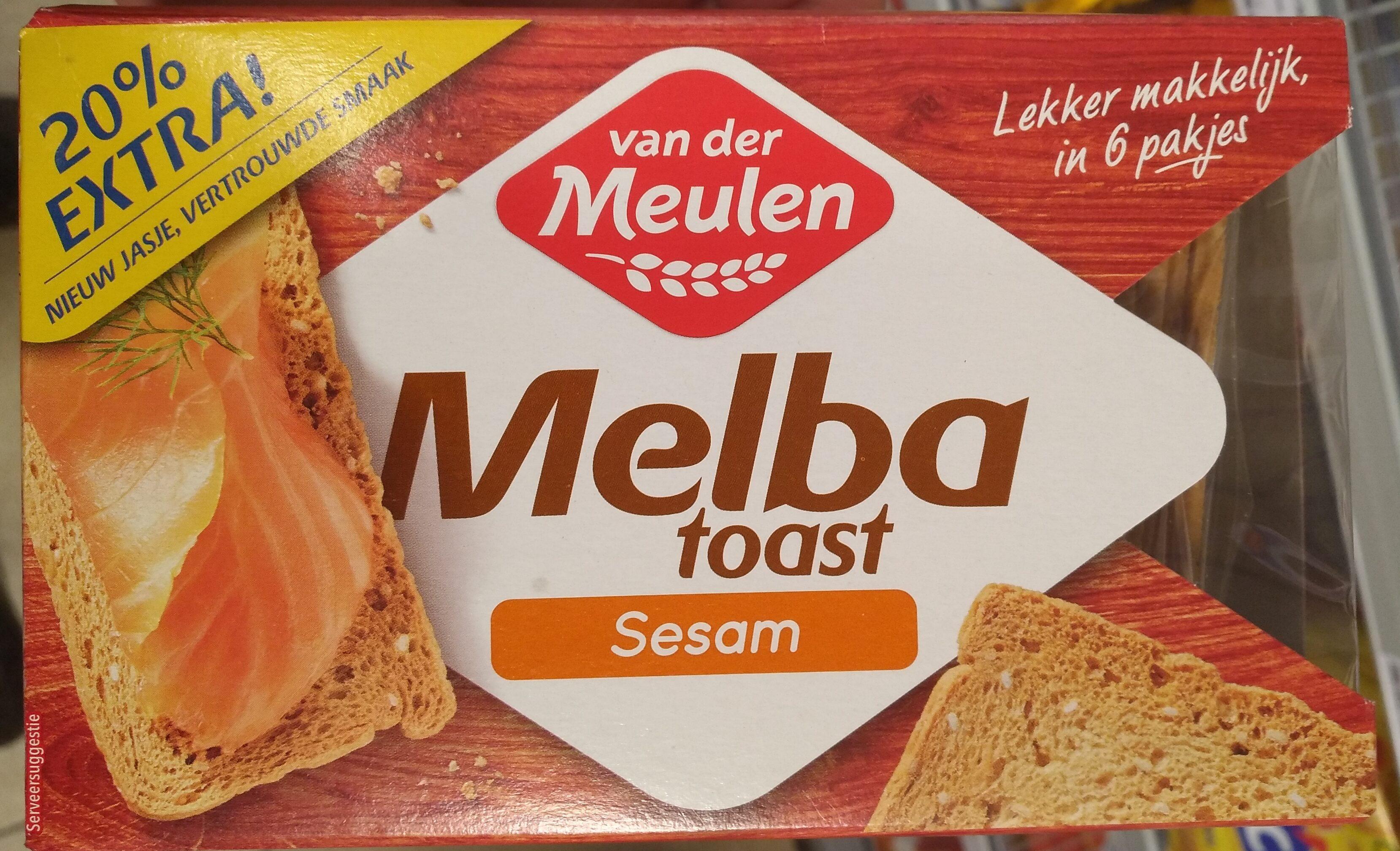 Melba toast sesam - Product