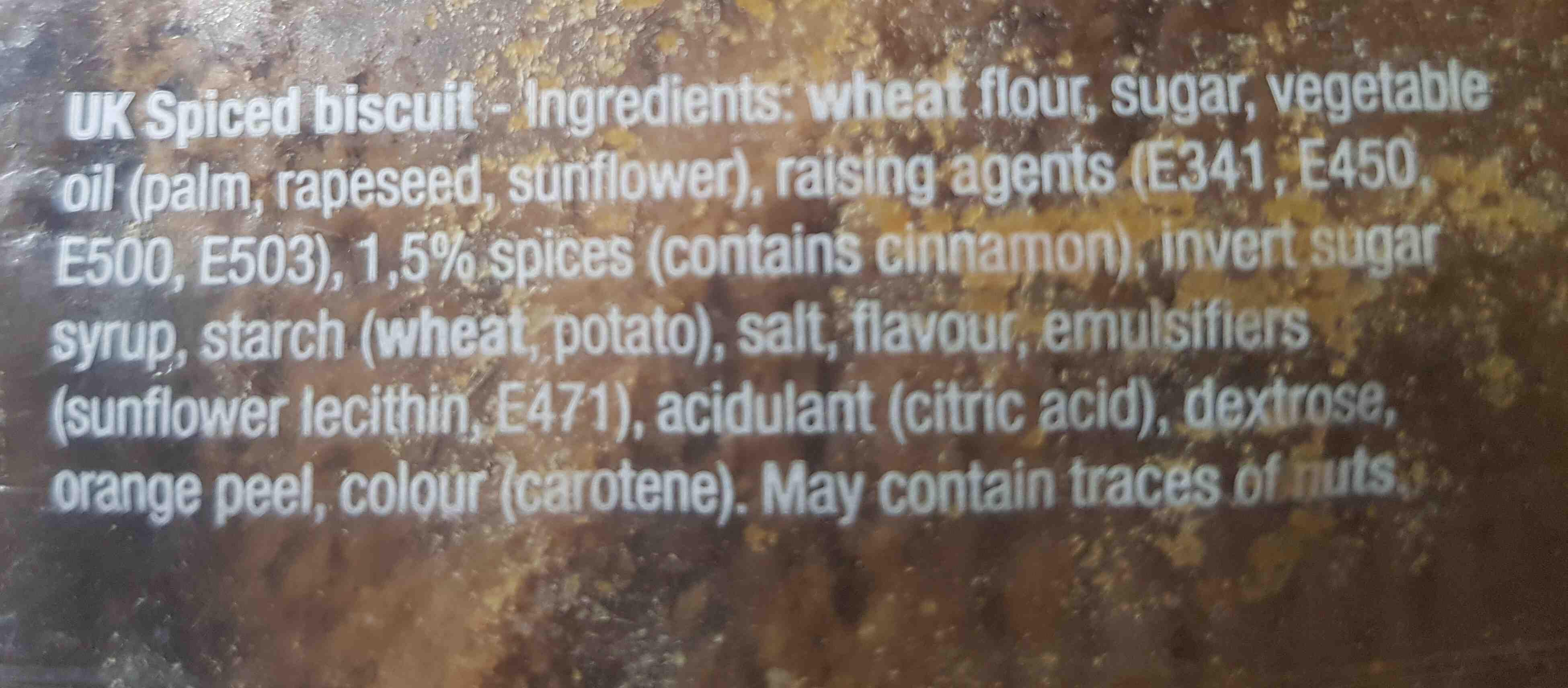 speculaasbrokken - Ingrediënten