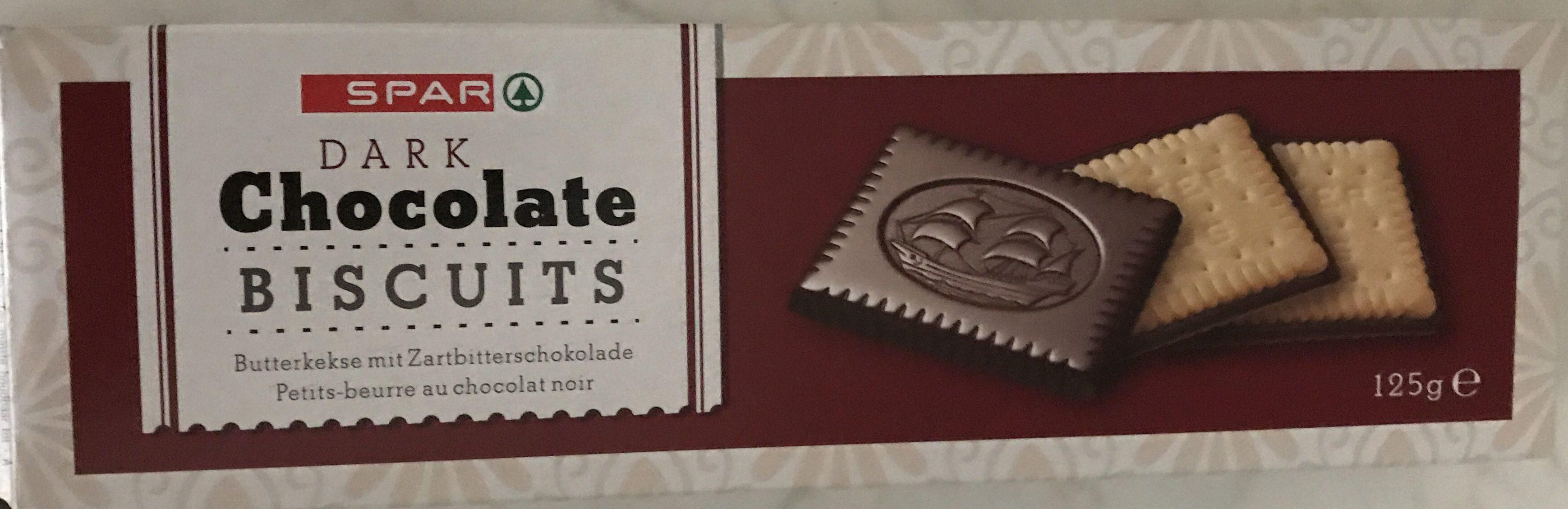 Dark Chocolate Biscuits - Product - en