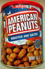 American Peanuts - Roasted and salted - Produit