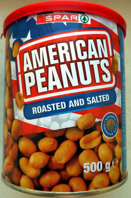 American Peanuts - Roasted and salted - Produkt