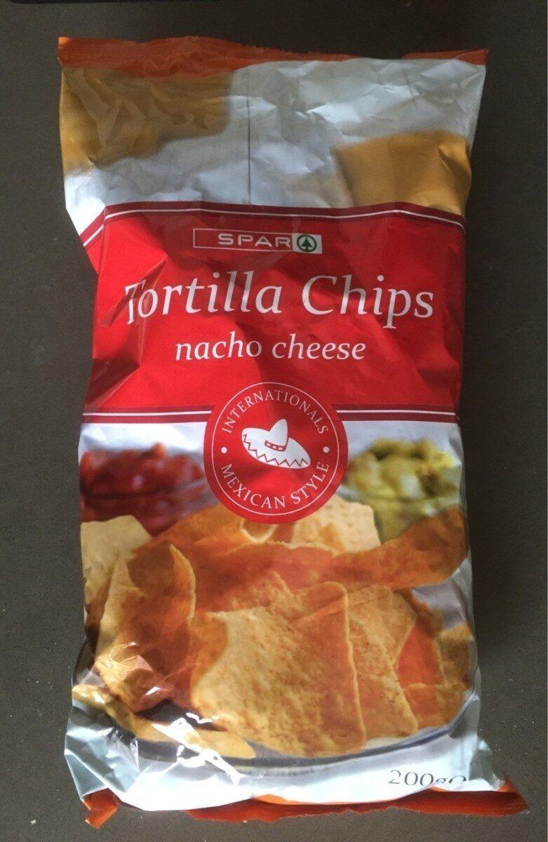 Spar Tortilla Chips Nacho Cheese - Produit - hu