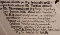 Original Stroopwafels - Nutrition facts - en