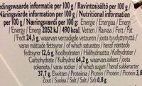 Original Stroopwafels - Voedingswaarden - nl