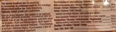Eirwafels - Informations nutritionnelles - fr