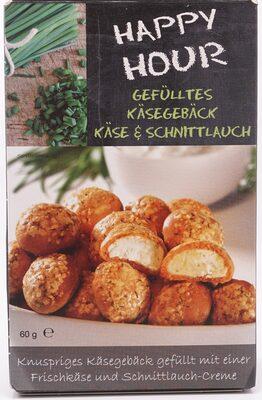 Gefülltes Käsegebäck Käse & Schnittlauch - Produkt
