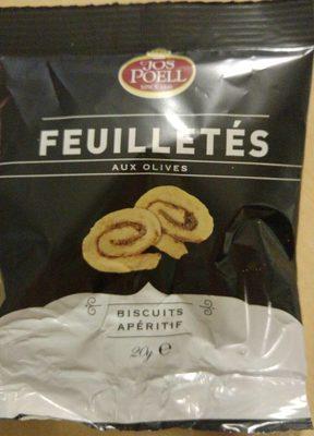 Feuilletés aux olives - Product