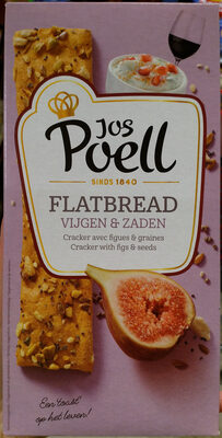 Flatbread vijgen en zaden - Produit - nl