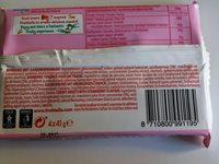Fruitella Strawberry 4PK - Ingrédients - fr