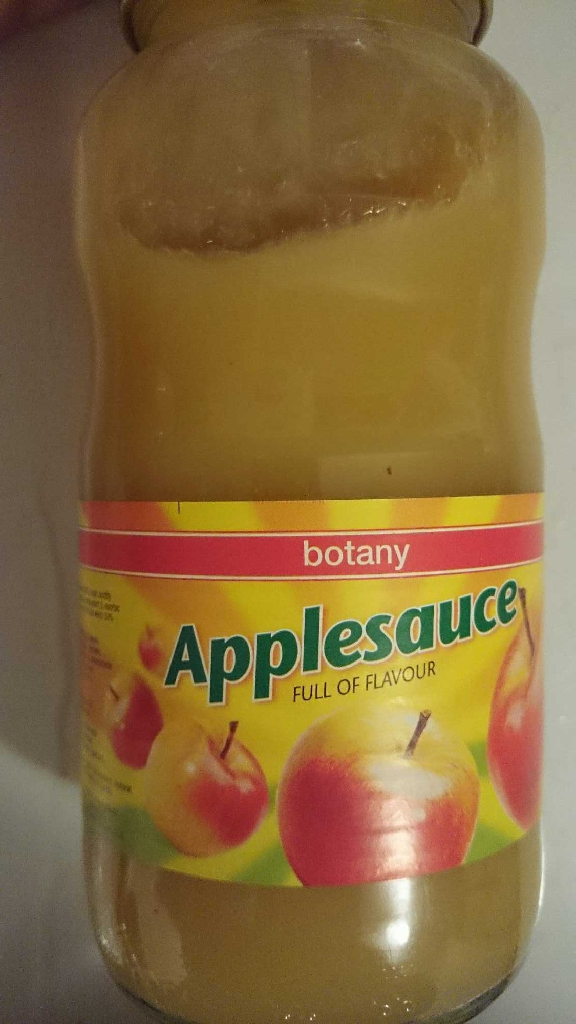Botany Applesauce - Product