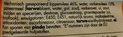 frikandellen, mini's - Ingredients