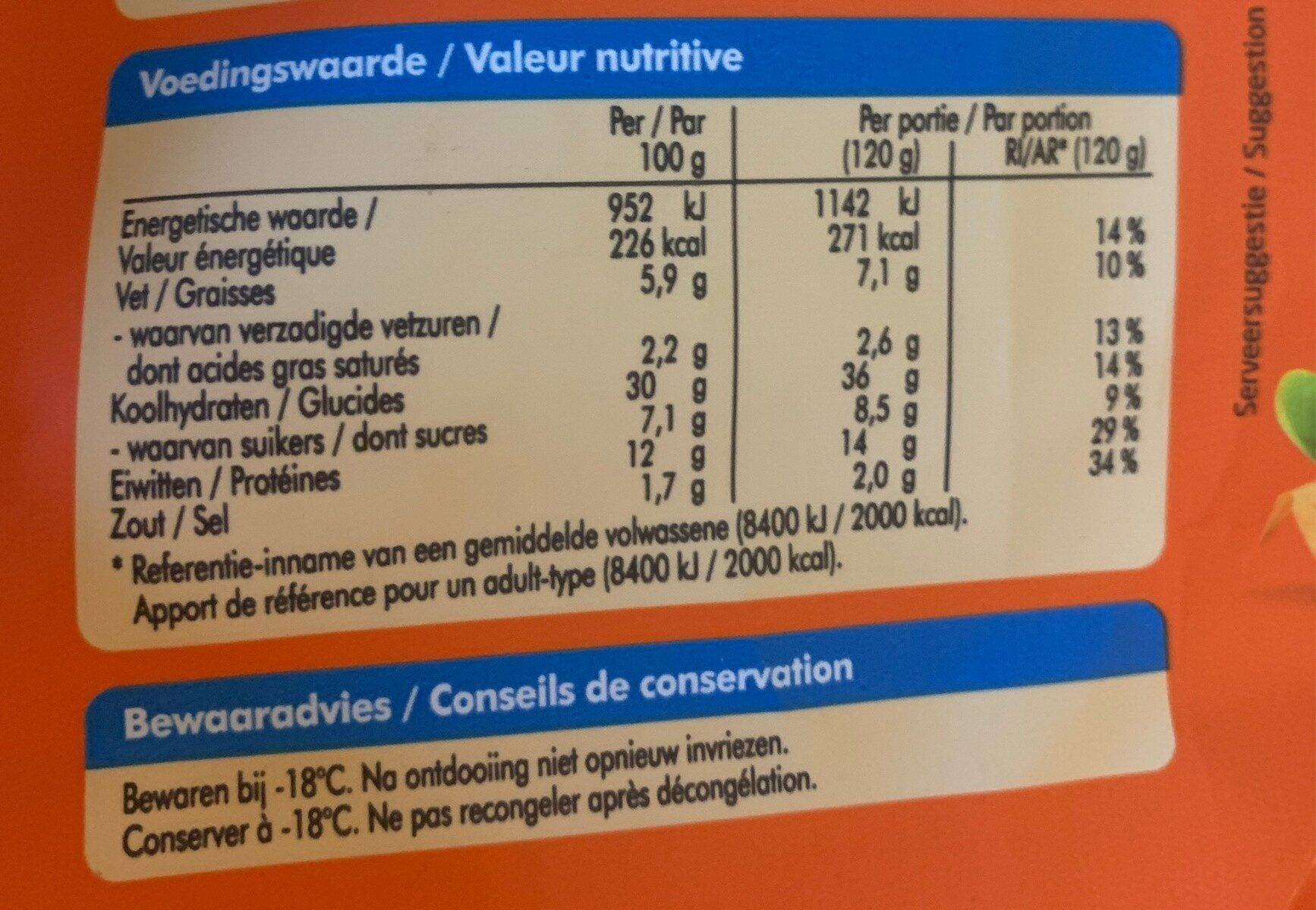 Petit pain HAMBURGER - Nutrition facts - nl