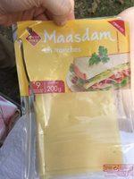 Maasdam en tranches - Product - fr