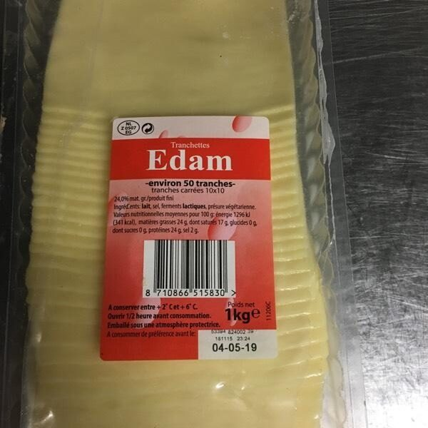 Tranchettes Edam - Product - en
