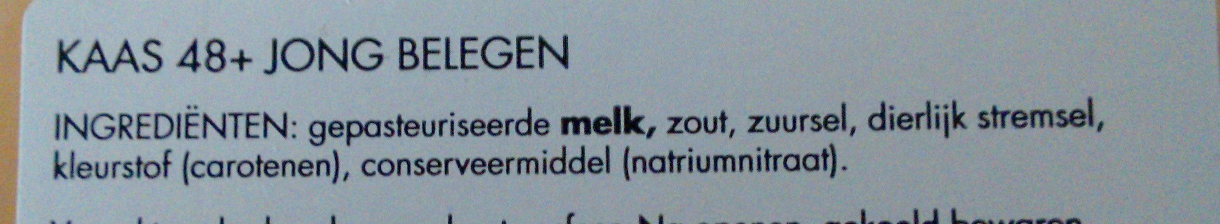 Goudse kaas 48+ - Ingredients - nl