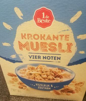 Krokante muesli vier noten - Product - nl