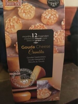 Gouda cheese crumbles - Produit - fr