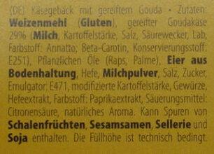 Gouda cheese crumbles - Zutaten - de