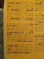 Gouda cheese crumbles - Ingrédients - fr