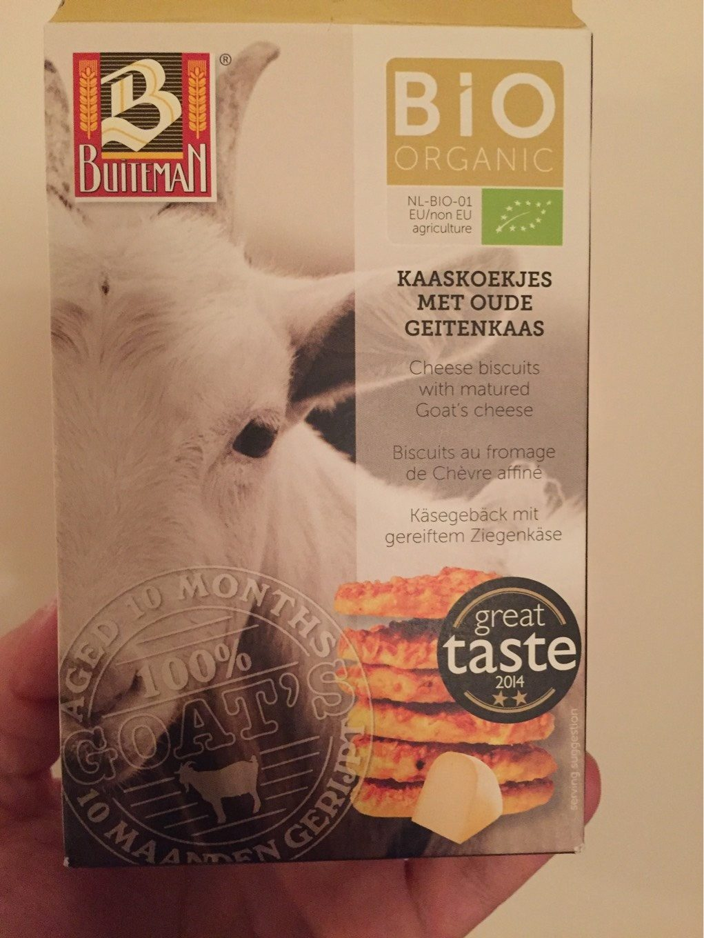 Biscuit Aperitif Fromage Chevre - Product - fr