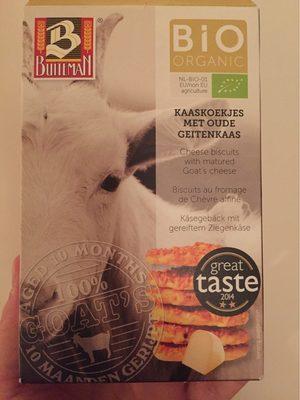 Biscuit Aperitif Fromage Chevre - Nutrition facts - fr