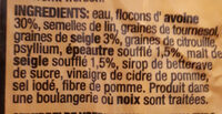 SOMA BROODVAN - Ingrediënten