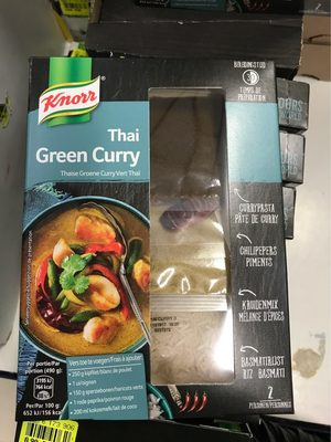 Thai green curry - Product - fr