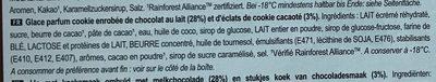 Magnum Batonnet Glace Cookie Crumble x4 - Ingrédients - fr