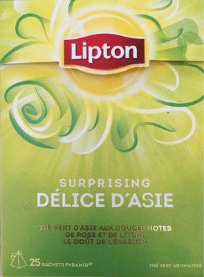 Lipton Thé Délice d'Asie 25 Sachets - Produit