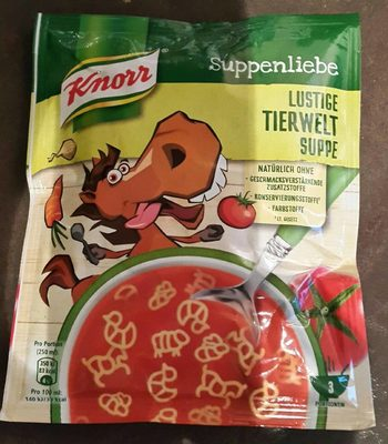Lustige Tierweltsuppe - Product