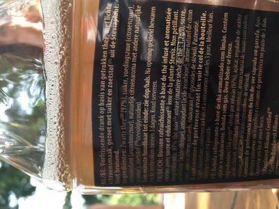 Lipton Pure Leaf Lemon 1000ML - Ingredients - fr