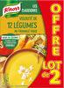 Knorr Velouté de Légumes Fromage Frais Lot 2x1L - Product