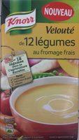 Velouté de 12 légumes - Produit