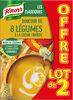 Knorr Les Classiques Soupe Liquide Douceur de 8 Légumes à la Crème Fraîche Lot 2x1L - Product