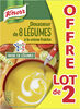 Knorr Les Classiques Soupe Liquide Douceur de 8 Légumes à la Crème Fraîche Lot 2x1L - Produkt