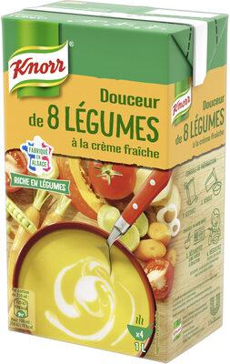 Knorr Soupe Liquide Douceur de 8 Légumes à la crème fraîche - Prodotto - fr