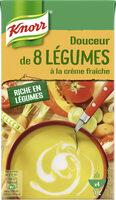 Knorr Soupe Liquide Douceur de 8 Légumes à la crème fraîche 1 l - Producto - fr
